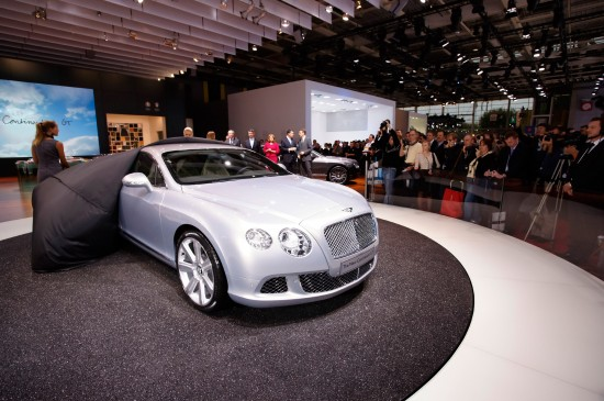 2011 Bentley Continental GT at Paris