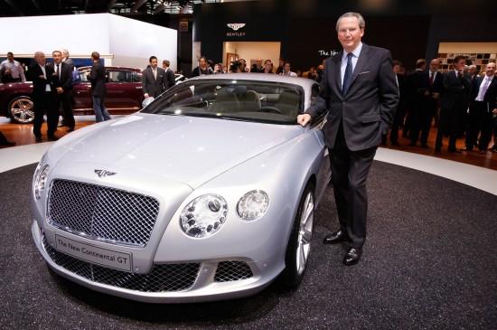 2011 Bentley Continental GT at Paris