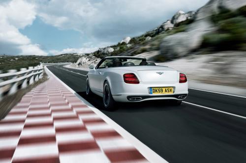 2011 Bentley Continental Supersports Convertible обещания лучшей производительности