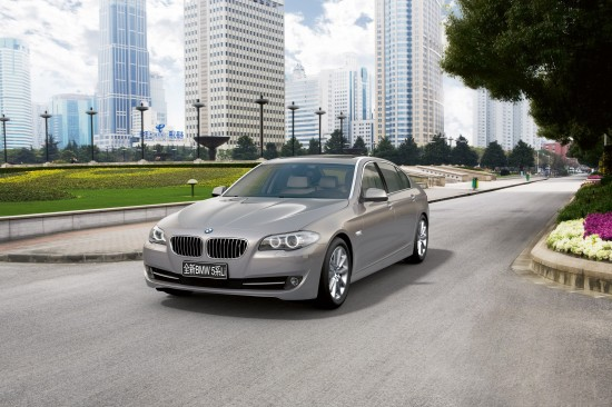BMW 5 Series Sedan Long Wheelbase