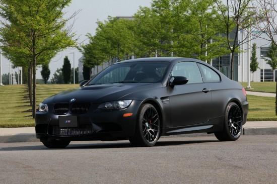 BMW Frozen Black Edition M3 Coupe