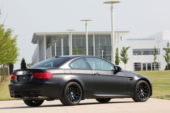 BMW Frozen Black Edition M3 Coupe