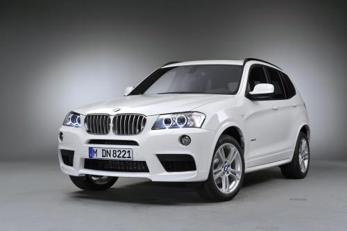 2011 BMW X3 M Sports Package на Парижском автосалоне