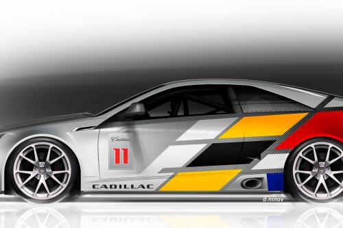 Cadillac CTS-V Coupe Race Car (2011) - picture 1 of 3