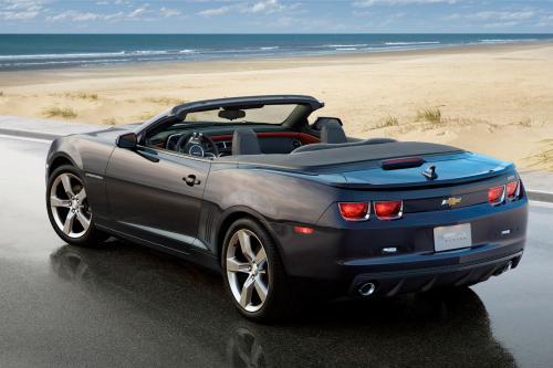 2011 Chevrolet Camaro Convertible дебютирует в следующем месяце в Ла