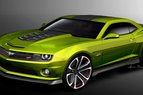 Chevrolet Camaro Hot Wheels Concept и Chevrolet Spark - зеленый Discovery