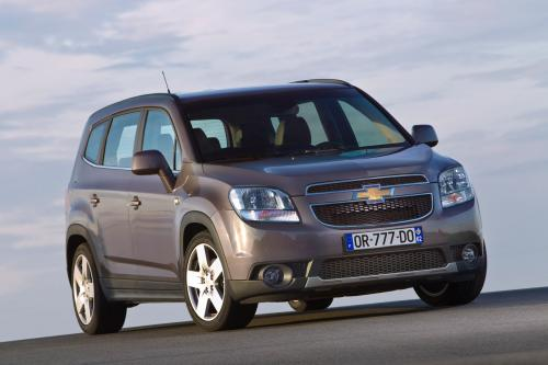 2011 Chevrolet Orlando Европы