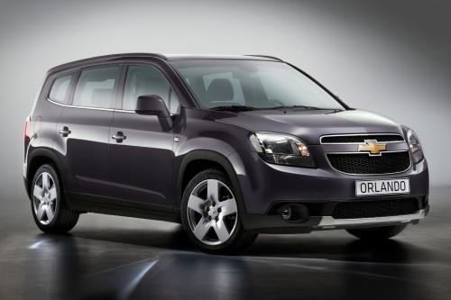 Chevrolet выявить Orlando MPV в Париже 2010