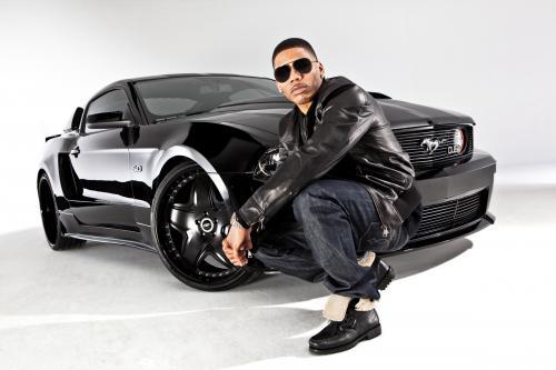 2011 DUB Edition Mustang GT 5.0 для хип-хопа Нелли