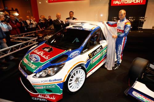 2011 Ford Fiesta RS WRC официальный ливреи