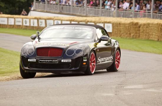 GoodWood - Bentley Continental SuperSports Convertible