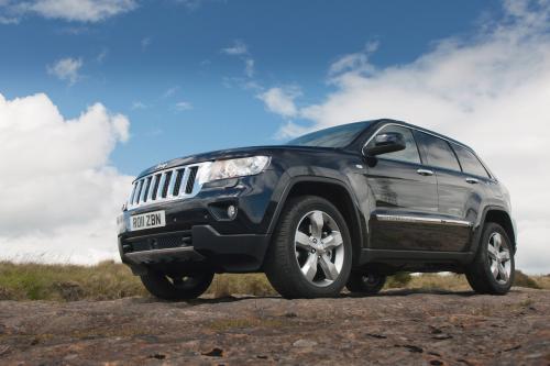 2011 Jeep Grand Cherokee Великобритании