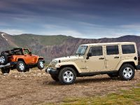 2011 Jeep Wrangler Sahara and Wrangler Unlimited Sahara