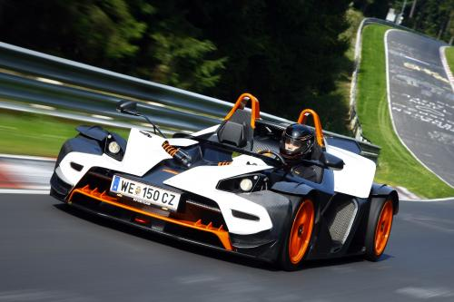 KTM X-BOW R - 300PS и 790KG