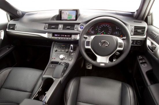 Lexus CT 200h F Sport