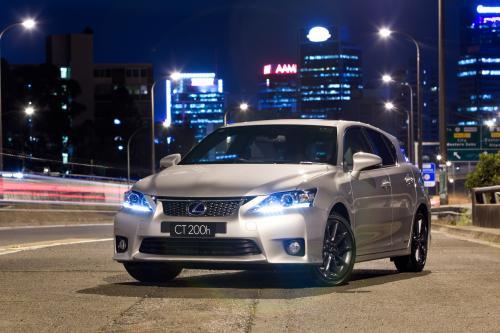 Lexus CT 200h Австралийский Старт продаж