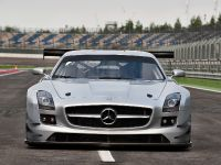 2011 Mercedes-Benz SLS AMG GT3 track testing, 1 of 7
