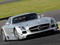 2011 Mercedes-Benz SLS AMG GT3 track testing, 2 of 7