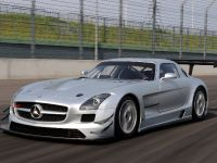 2011 Mercedes-Benz SLS AMG GT3 track testing, 5 of 7