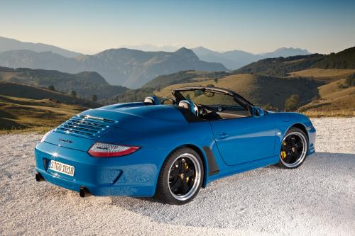 2011 Porsche 911 Speedster limited edition, Porsche Exclusive