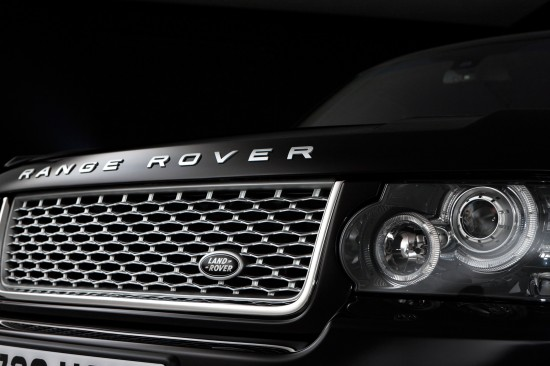Range Rover Autobiography Black 40th Anniversary Limited Edition