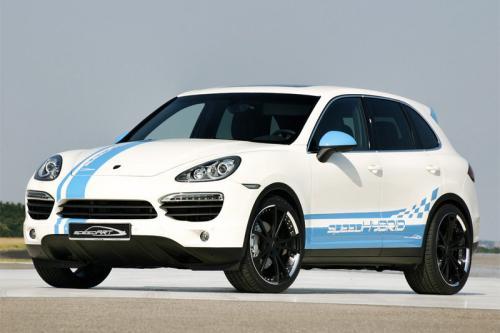 2011 Porsche Cayenne уточненный SpeedArt