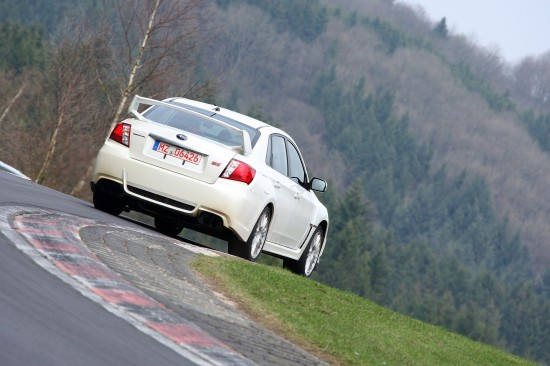 Subaru WRX STI 4-door at Nurburgring