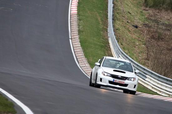 Subaru WRX STI 4-door at Nurburgring