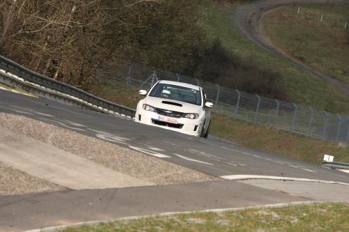 2011 Subaru WRX STi седан испытания на Нюрбургринге - фотография subaru