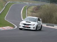 2011 Subaru WRX STI 4-door at Nurburgring, 15 of 17