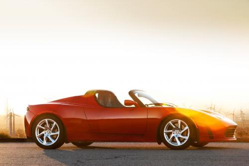 Tesla Roadster 2.5 на фестивале скорости Goodwood 2010