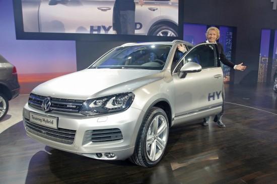 2011 Volkswagen Touareg Hybrid at Touareg Late Night Show