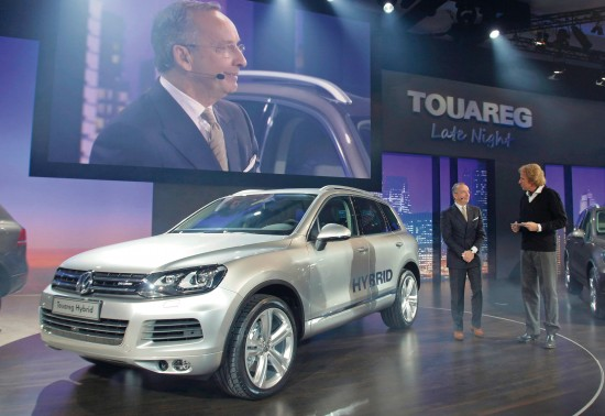 2011 Volkswagen Touareg Hybrid at Touareg Late Night Show