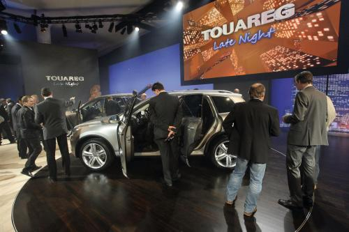 2011 Volkswagen Touareg полностью развернутом