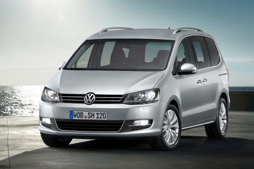 Следующего поколения VW Sharan дебютирует в Женеве