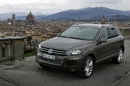 Volkswagen Touareg 3.0 TDI Clean Diesel - мировой рекорд