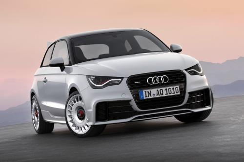 Audi A1 Quattro в действии [видео]