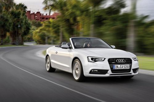 2012 Audi A5 Cabriolet и 2012 Audi TT Roadster лучшие Road Trip Кабриолеты
