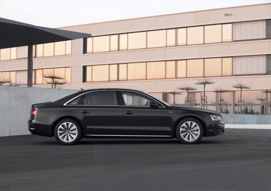 Audi A8 Hybrid - production version