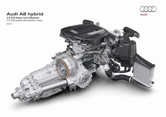 Audi A8 Hybrid - production version