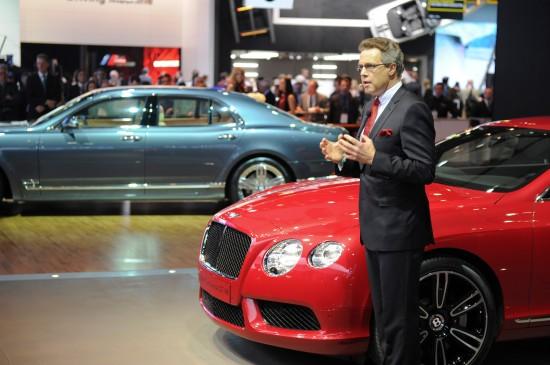 Bentley Continental GT V8 Detroit