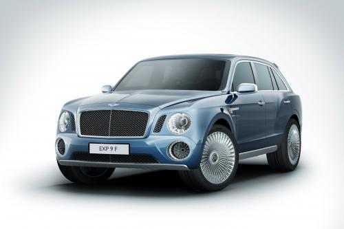 2012 Bentley EXP 9 F SUV Concept показал в Женеве