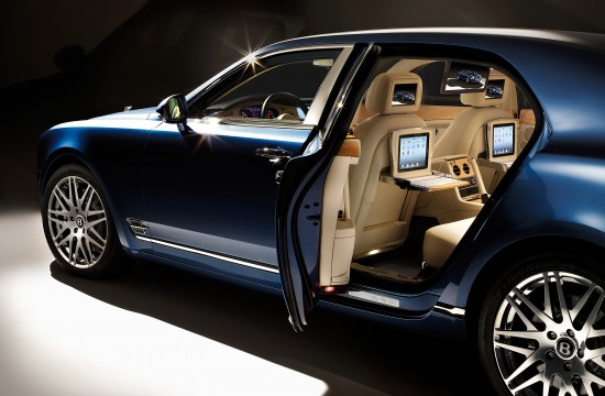 Bentley Mulsanne Executive Interior