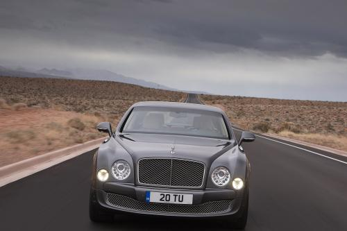 Bentley Mulsanne С Пакетом Опций Mulliner Driving Specification