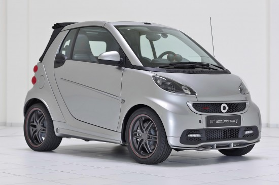 Brabus Smart 10th anniversary Special Edition