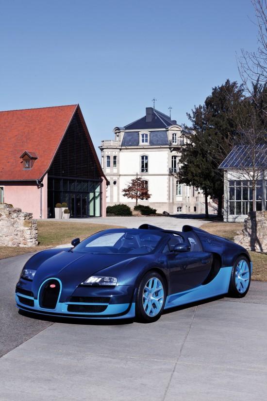 Bugatti Veyron Grand Sport Vitesse Blue Carbon