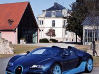 2012 Bugatti Veyron Grand Sport Vitesse Blue Carbon, 1 of 6