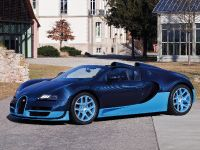 2012 Bugatti Veyron Grand Sport Vitesse Blue Carbon, 2 of 6