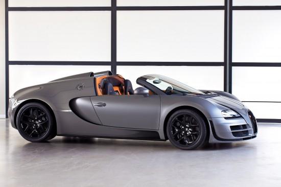 Bugatti Veyron Grand Sport Vitesse Jet Grey