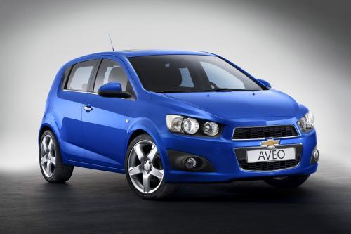 2012 Chevrolet Aveo идет в производство